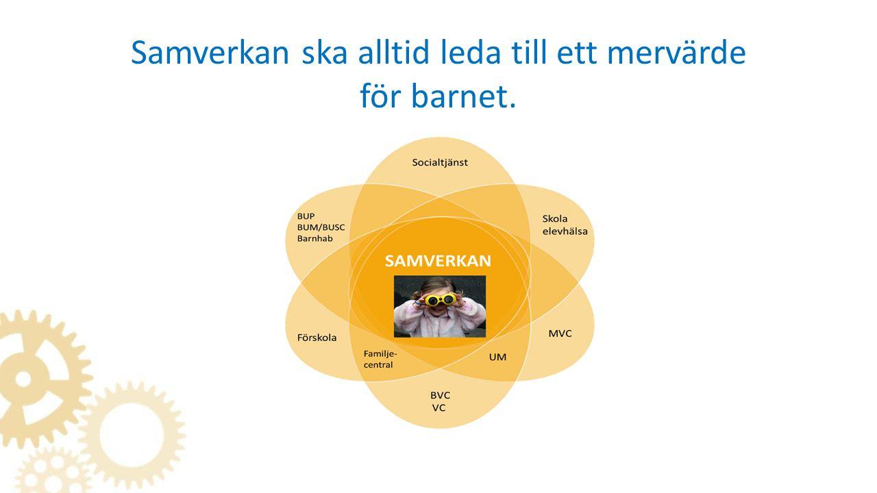 Västbus Samverkan för barn och ungas bästa Regionalt övergripande riktlinje som gäller samtliga 49 kommuner och regionen.