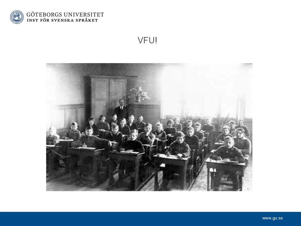 www.gu.se VFU!