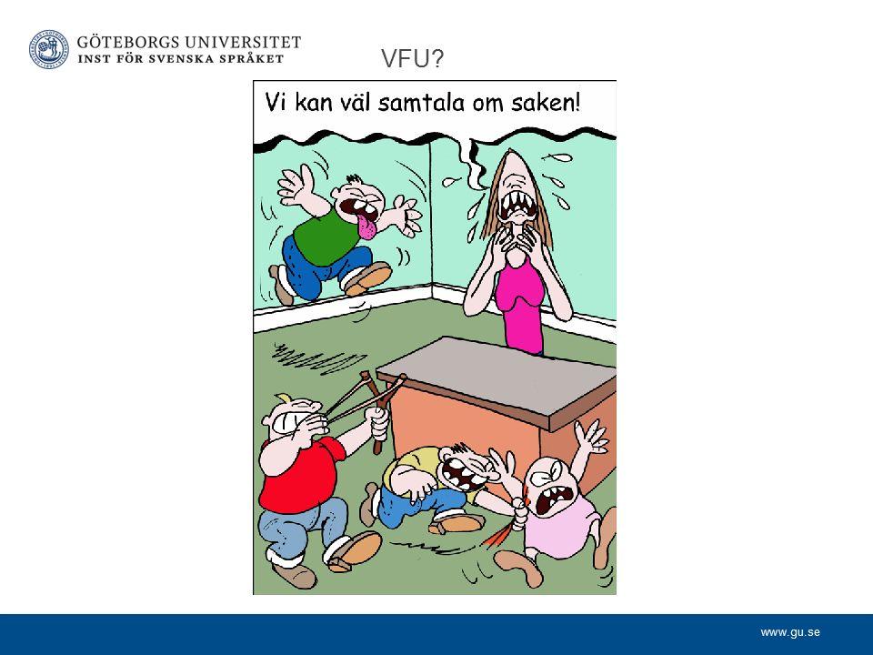 www.gu.se VFU