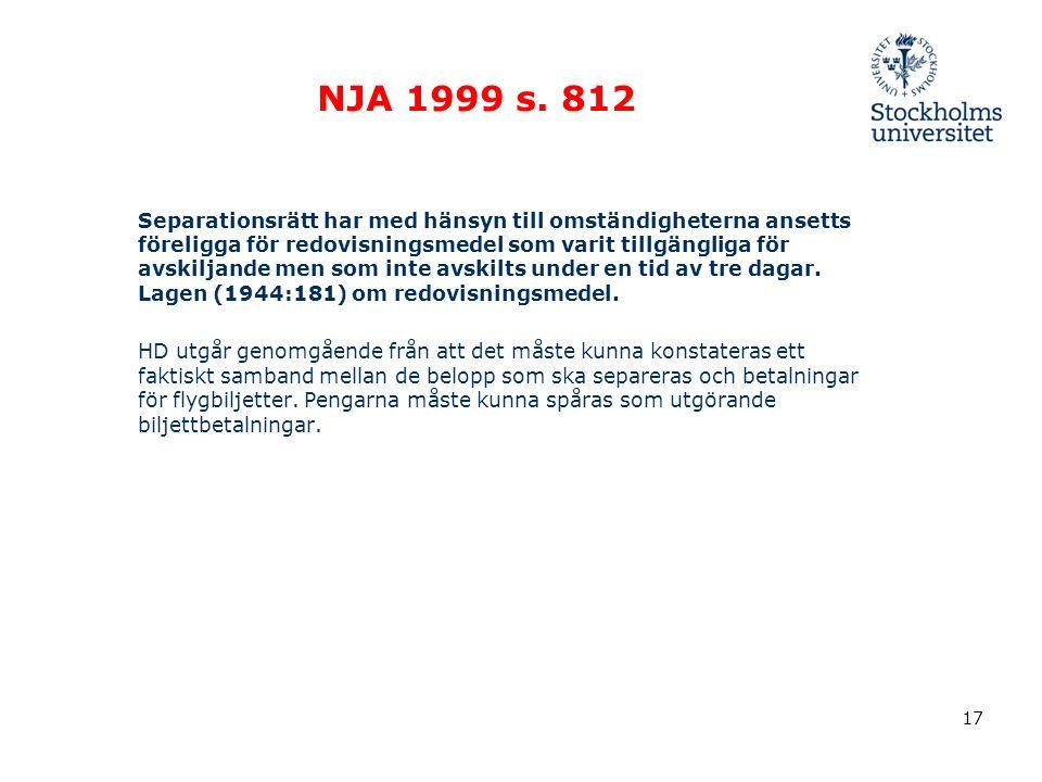 NJA 1999 s.