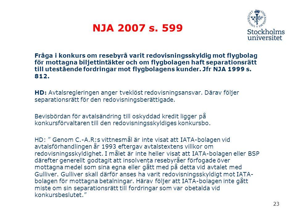 23 NJA 2007 s.