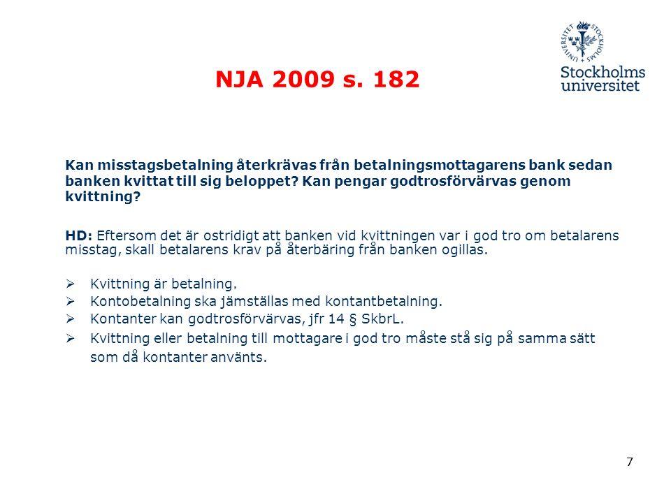 7 NJA 2009 s.