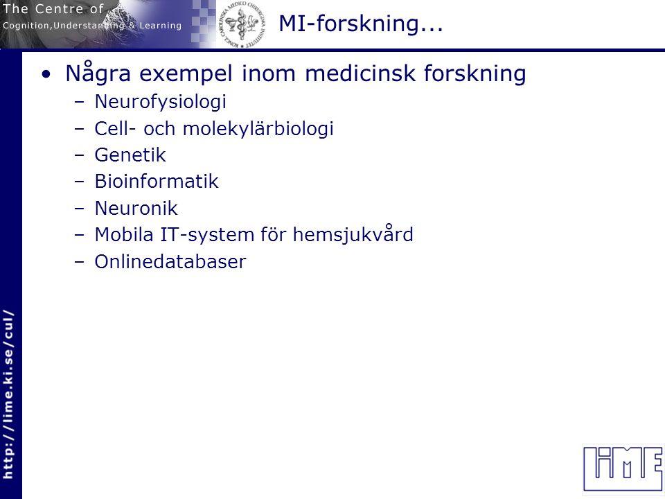 MI-forskning...Beslutsstödssystem inom psykiatri (Utvärdering av bl.a.