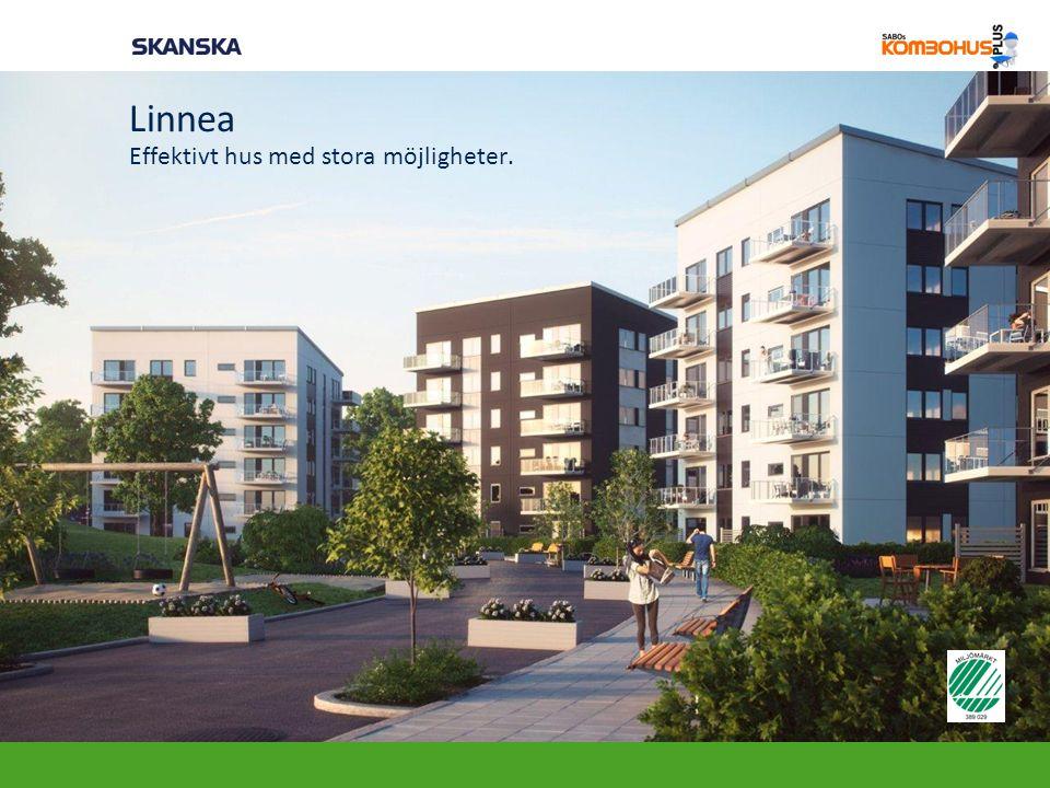Linnea Effektivt hus med stora möjligheter.