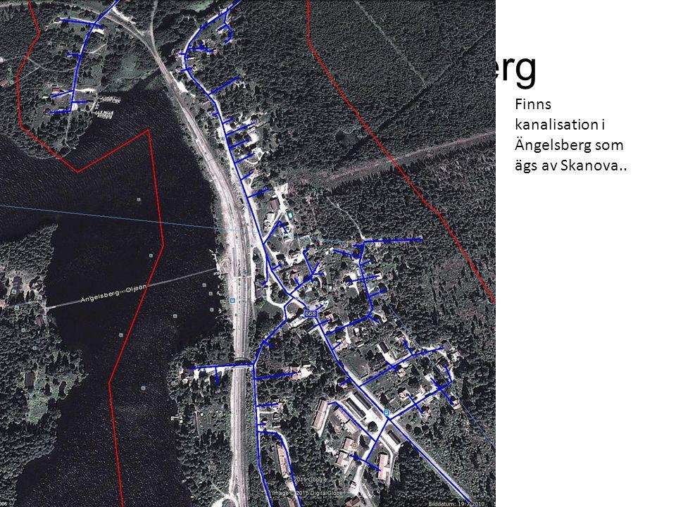 Projektering Ängelsberg Finns kanalisation i Ängelsberg som ägs av Skanova..