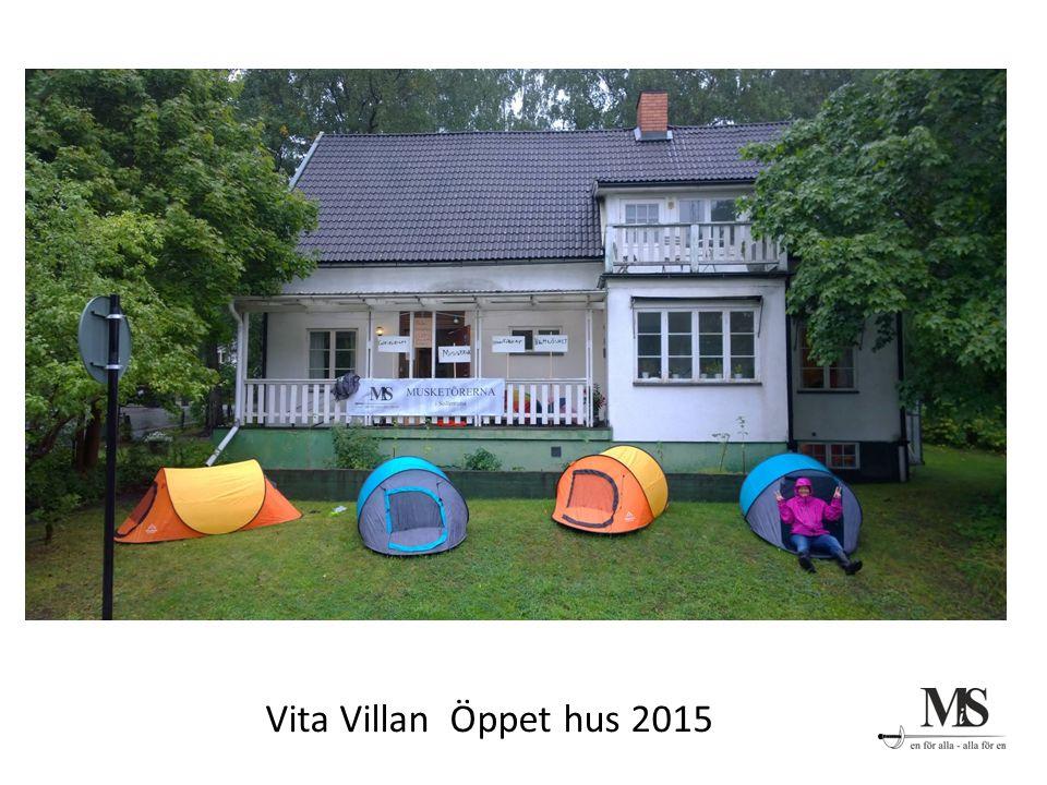 Vita Villan Öppet hus 2015