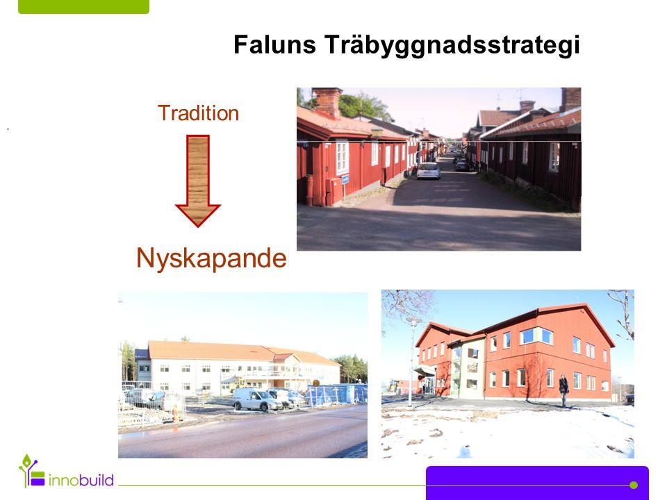 Faluns Träbyggnadsstrategi Tradition Nyskapande