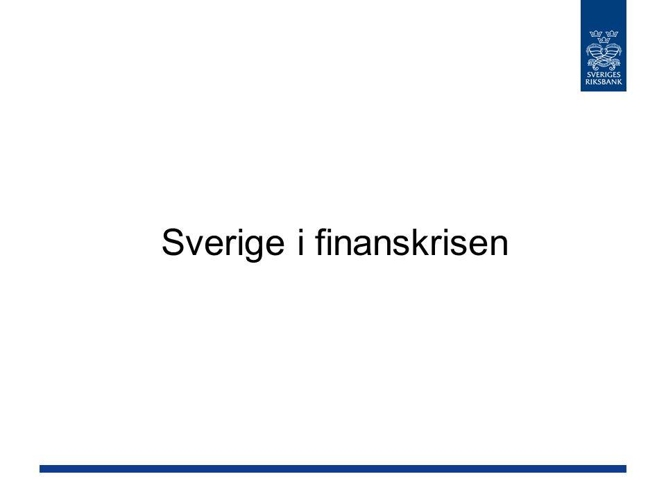 Sverige i finanskrisen