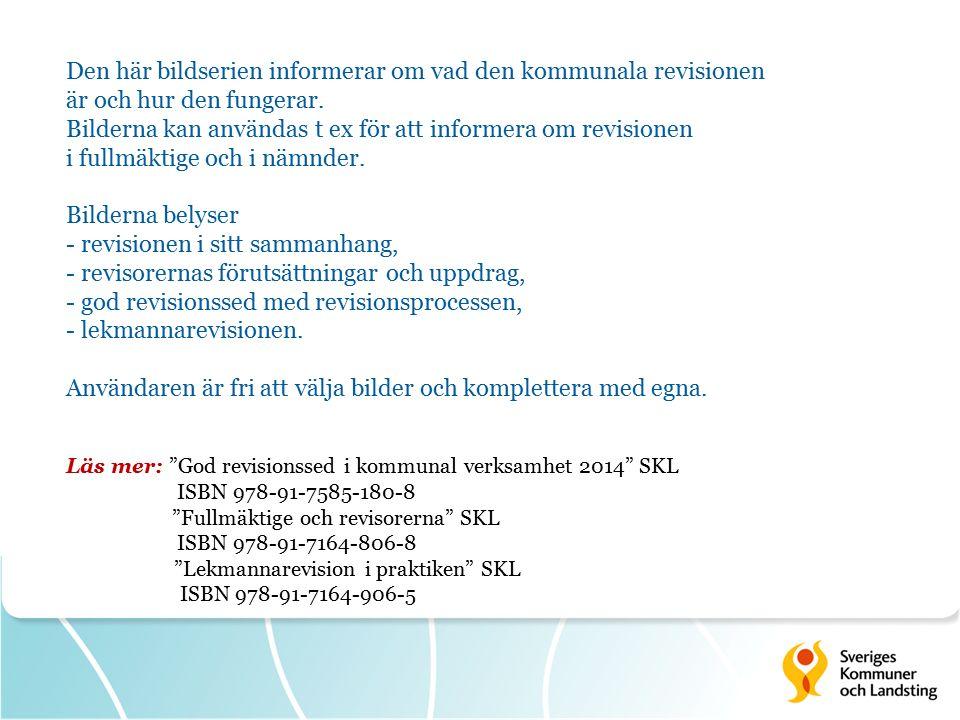 Värdera risker Ur God revisionssed i kommunal verksamhet 2014