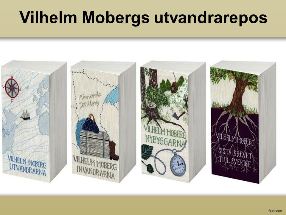 Vilhelm Mobergs utvandrarepos