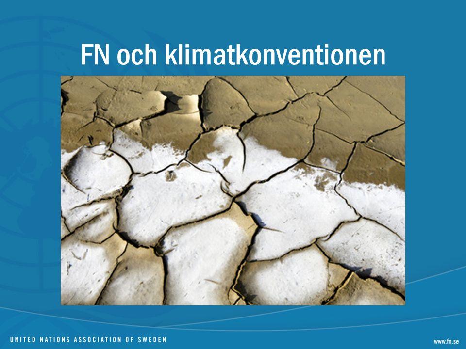 FN och klimatkonventionen