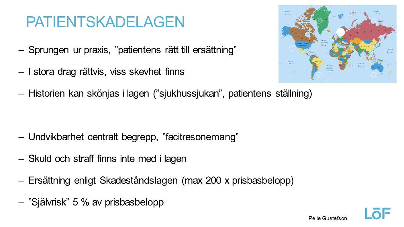 Löf Pelle Gustafson ANSVARSFÖRSÄKRING En drulleförsäkring som landsting/regioner tecknar i Löf Täcker landstingens/regionernas ansvar vid skadeståndsskyldighet – ej Patientskadelagen Culpösa fall där fel/försummelse/vållande anses föreligga