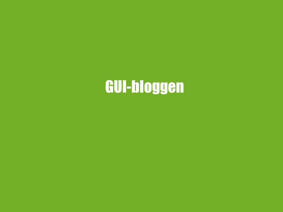 GUI-bloggen
