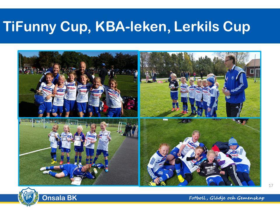 TiFunny Cup, KBA-leken, Lerkils Cup 17