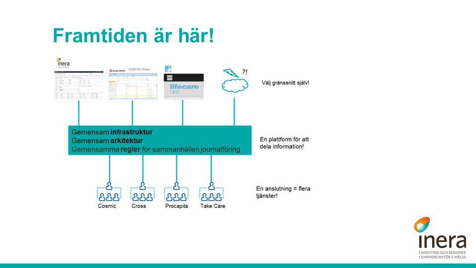 Sv CAMBIO HEALTHCARE SYSTEMS Förenklad översiktsbild arkitektur www.cambio.se16