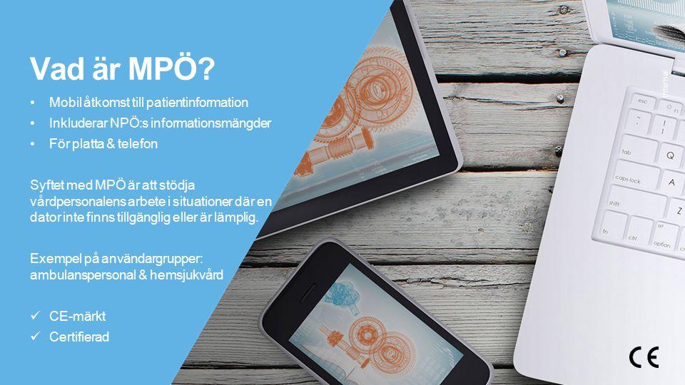 © Tieto Corporation Internal Autentisering med SITHS kort Använd sedan utan kortläsare under arbetspasset Varför.