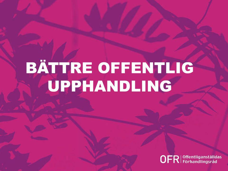 Version 1.0 BÄTTRE OFFENTLIG UPPHANDLING