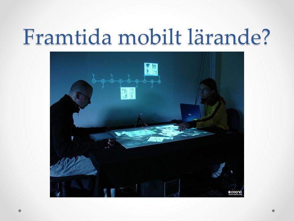 Framtida mobilt lärande