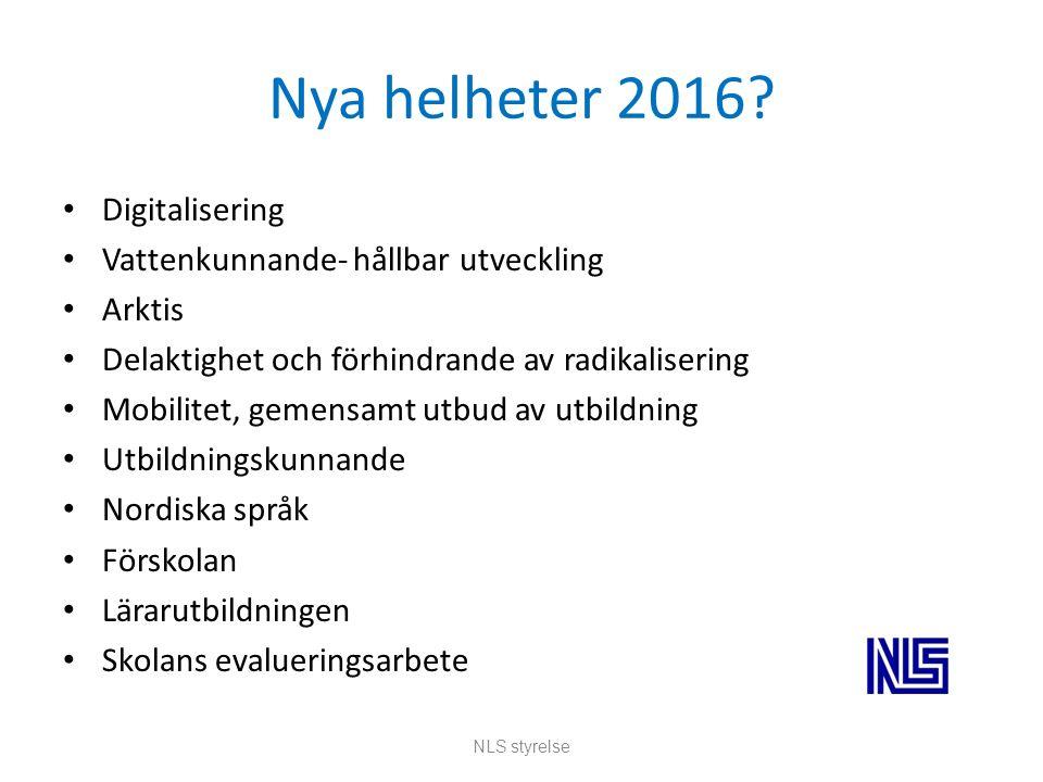 Nya helheter 2016.