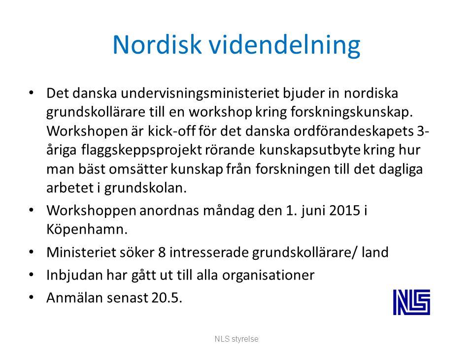 Nordisk videndelning Det danska undervisningsministeriet bjuder in nordiska grundskollärare till en workshop kring forskningskunskap.