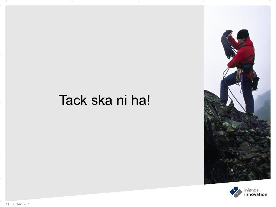 GUIDES MITTEN x RUBRIK OCH PUNKTLISTA ¼ FOTO Tack ska ni ha! 2014-10-07 11