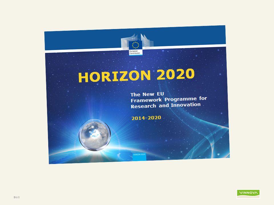 Infogad sidfot, datum och sidnummer syns bara i utskrift (infoga genom fliken Infoga -> Sidhuvud/sidfot) Bild 6 Varför Horisont 2020.