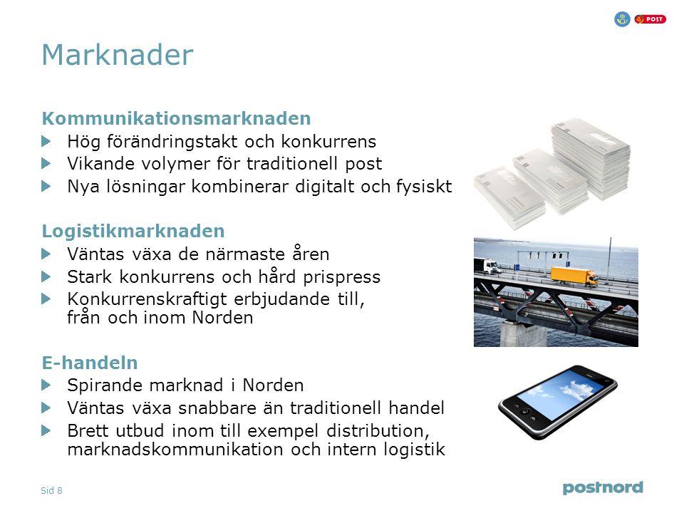 Sid 9 Project and Portfolio Management Implementering av PRINCE2 på PostNord