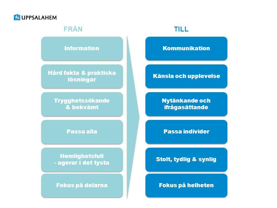 Position, vision, varumärkeslöfte och ledstjärnor