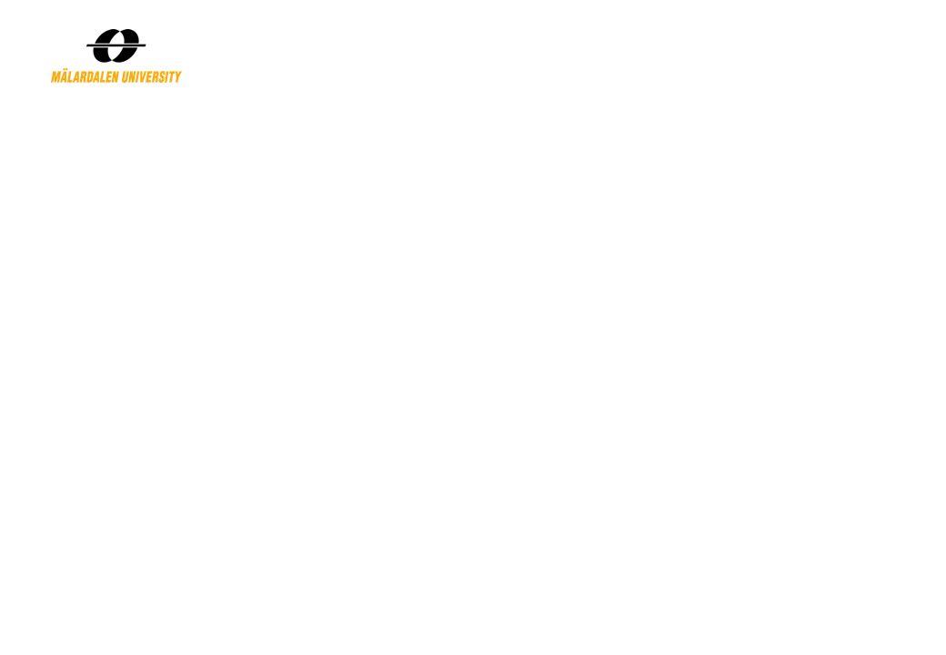 Exempel på metoder i produktutveckling… Kravspecifikation: vad vi kräver att produkten skall uppfylla Funktionsanalys: vilka funktioner skall produkten ha QFD: översätta kundkrav till produktegenskaper uttryckta i tekniskt mätbara termer Idégenerering/Brainstorm: hitta på idéer till lösningar Konceptutvärdering: att välja lämplig lösning FMEA: att innan produktionsstart upptäcka var fel skulle kunna uppstå