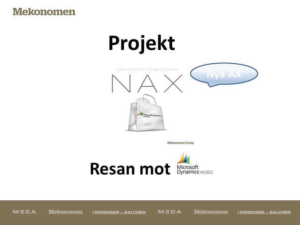NAX - Bakgrund och vägen framåt  Sedan början av 2000-talet fanns MS NAV på huvudbolaget.