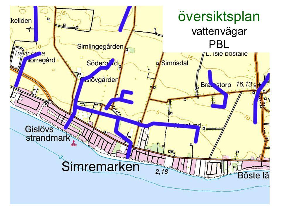 översiktsplan vattenvägar PBL