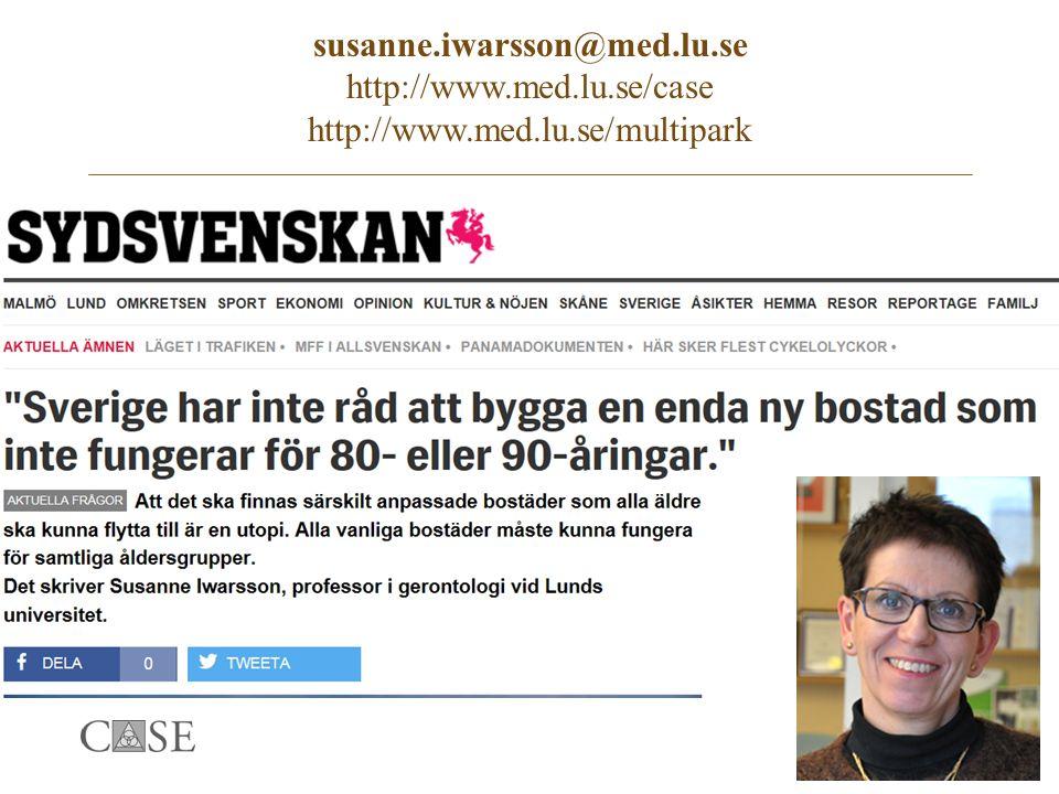 susanne.iwarsson@med.lu.se http://www.med.lu.se/case http://www.med.lu.se/multipark