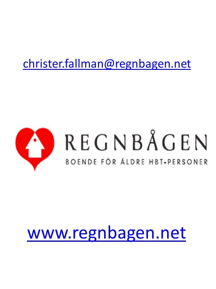 christer.fallman@regnbagen.net www.regnbagen.net