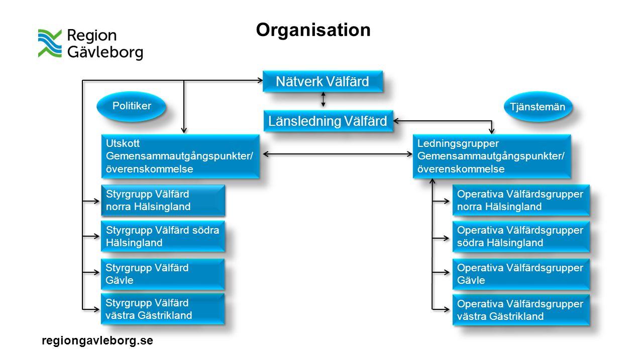 regiongavleborg.se Organisation