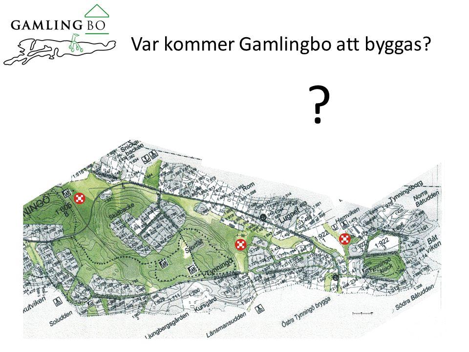 Var kommer Gamlingbo att byggas? ?