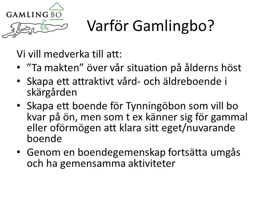 Varför Gamlingbo.