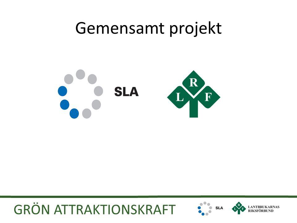 Gemensamt projekt GRÖN ATTRAKTIONSKRAFT