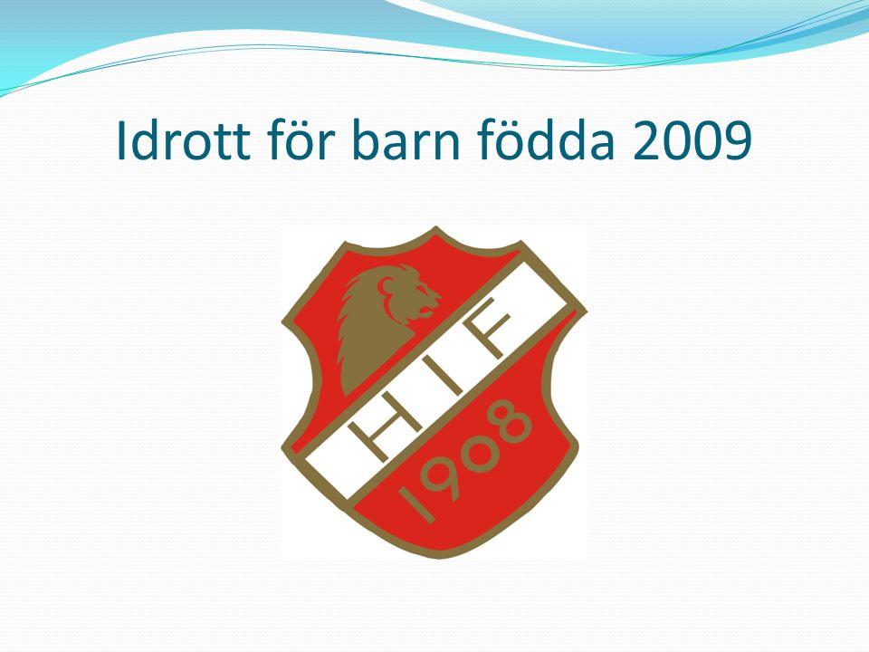 Idrott för barn födda 2009