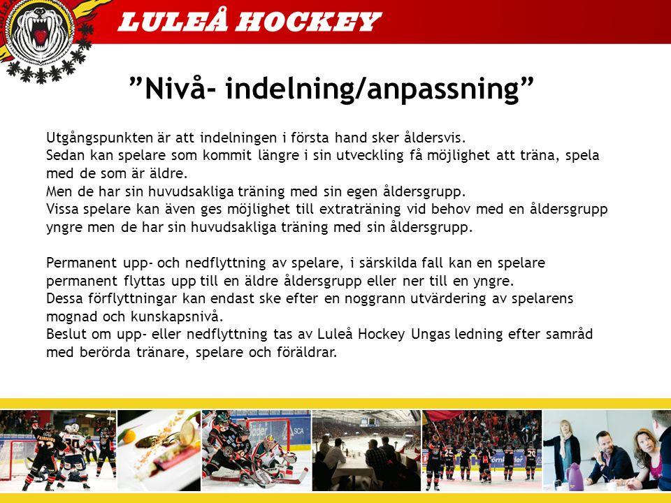 Målsättning 2013/2014 Våran målsättning är att vi ska: - Ha roligt tillsammans - spelare, ledare och föräldrar.