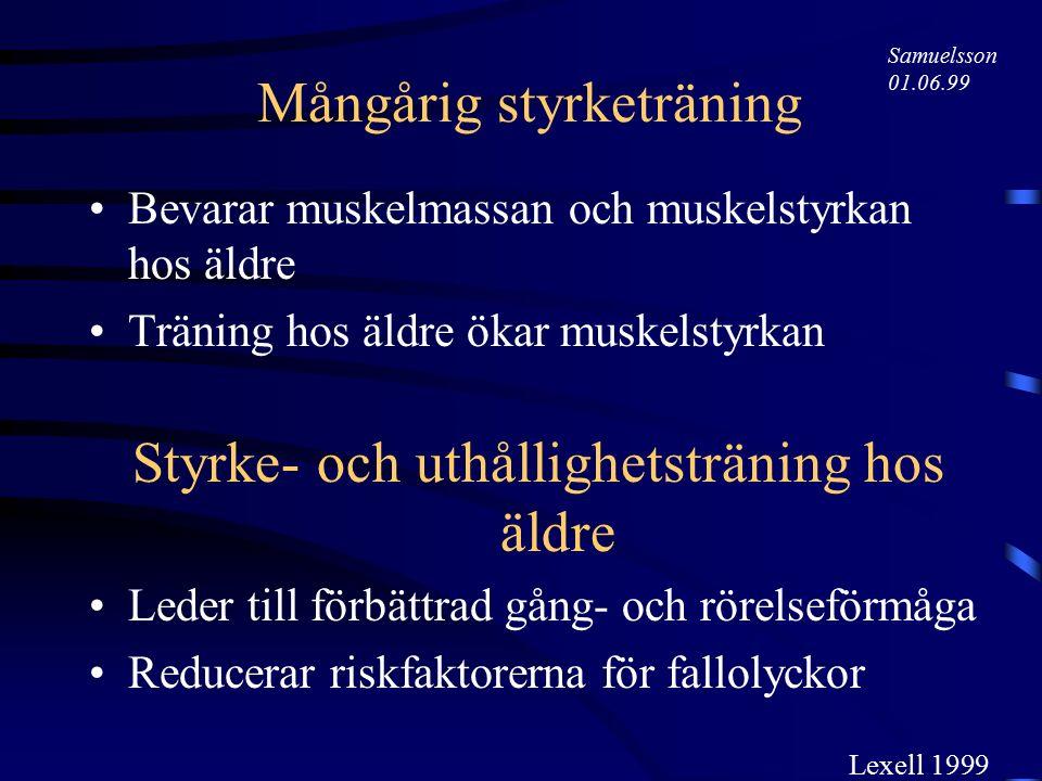 Prognos Viktigare att fokusera på framtida behov av Hjälp med vissa aktiviteter (medicinska faktorer) än Särskilda boendeformer (ekonomiska och sociala faktorer) Appelros & Nydevik 1999 Samuelsson 01.06.99