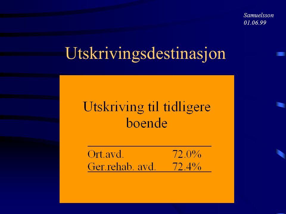 Samuelsson 01.06.99 Oppholdstid