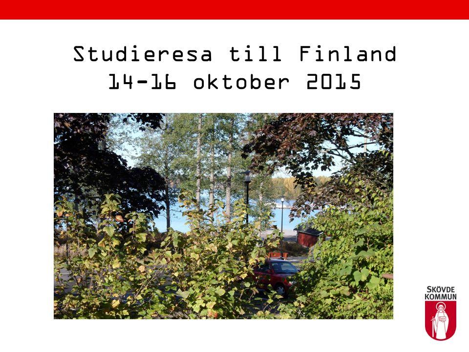 Studieresa till Finland 14-16 oktober 2015
