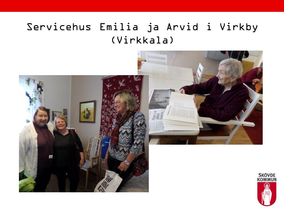 Lojo 15 oktober 2015 Från Virkby återvände vi till centrala Lojo och där gjorde förskolegruppen ett studiebesök i det andra svenskspråkiga daghemmet (förskolan) Laban.