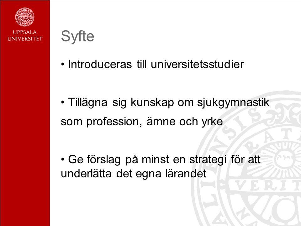 Olika sätt att lära Reproduktivt lärande Utvecklingsinriktat lärande Urell & Sundbom