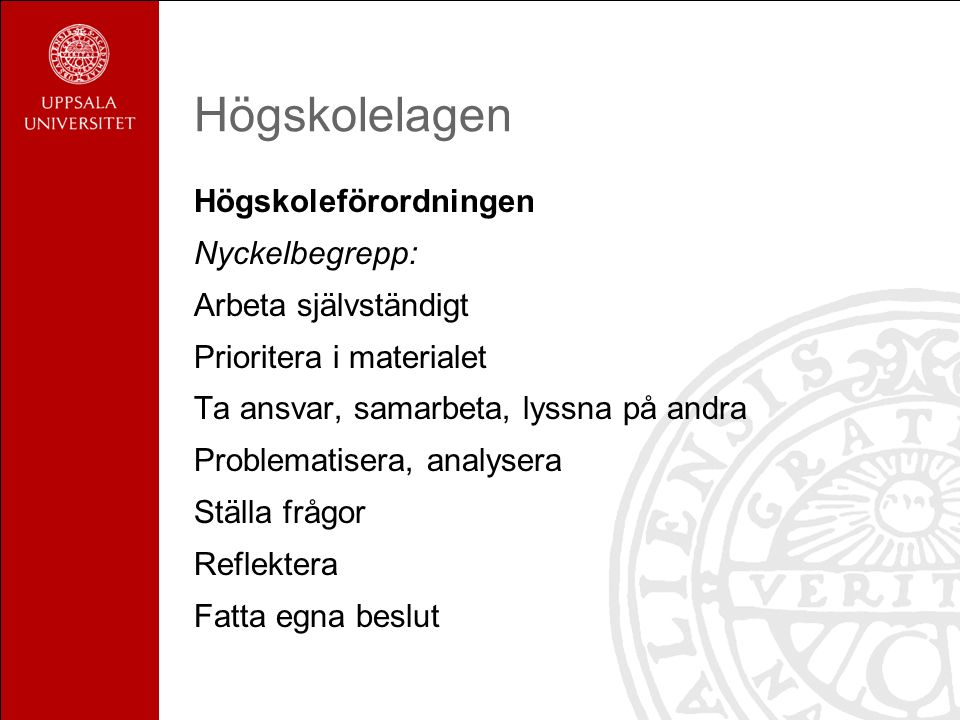 Urell & Sundbom Lärstilar