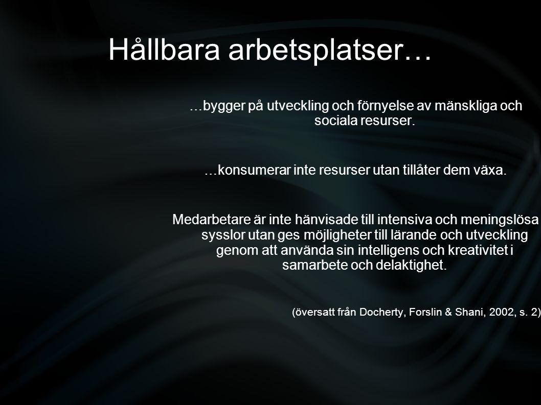 möjligheter till lärande och utveckling genom att använda….intelligens och kreativitet i samarbete och delaktighet ???.