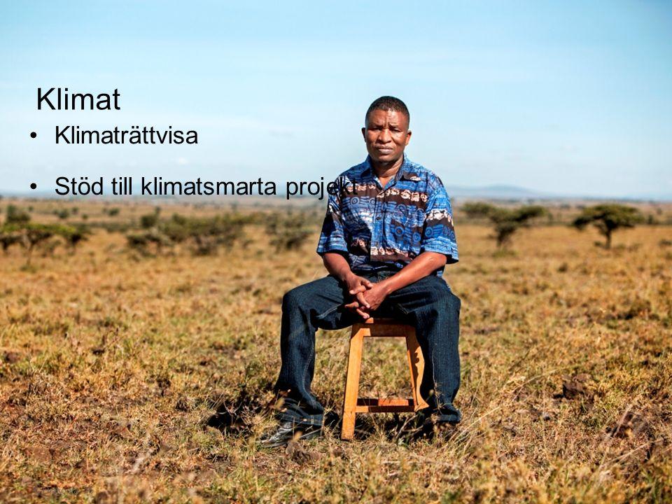 © Diakonia 16 Klimaträttvisa Stöd till klimatsmarta projekt Klimat