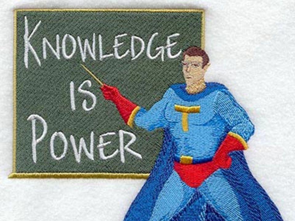 Kunskap är makt!