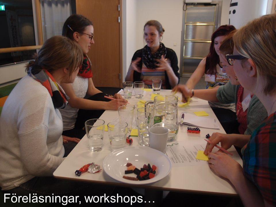 Föreläsningar, workshops…