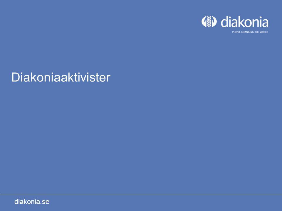 Diakoniaaktivister diakonia.se